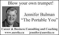 Aurelia Consulting - business card B&W