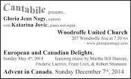Cantabile - business card B&W