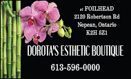 Dorota's Esthetic Boutique - business card Colour