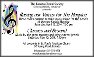 Kanata Choral Society - business card colour