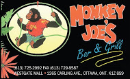 Monkey Joe's - business card Colour