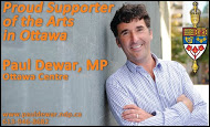 Paul Dewar - business card colour