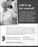 Redwoods Retirement - full page B&W