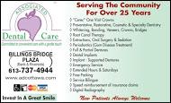 Billings Bridge Dental - business card