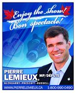 Politicians - MP Pierre Lemieux - 1_4 pg