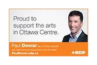 Politicians - Paul Dewar - business card colour