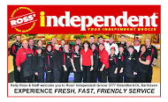 Ross' Independant Grocer - business card