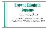 Shawne Elizabeth - business card