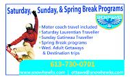 Snowhawks Ski Snowboard School - business card