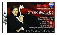 Tamara Gibb - business card