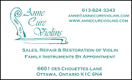 Anne Cure Violins