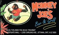 Monkey Joe's - business card Colour